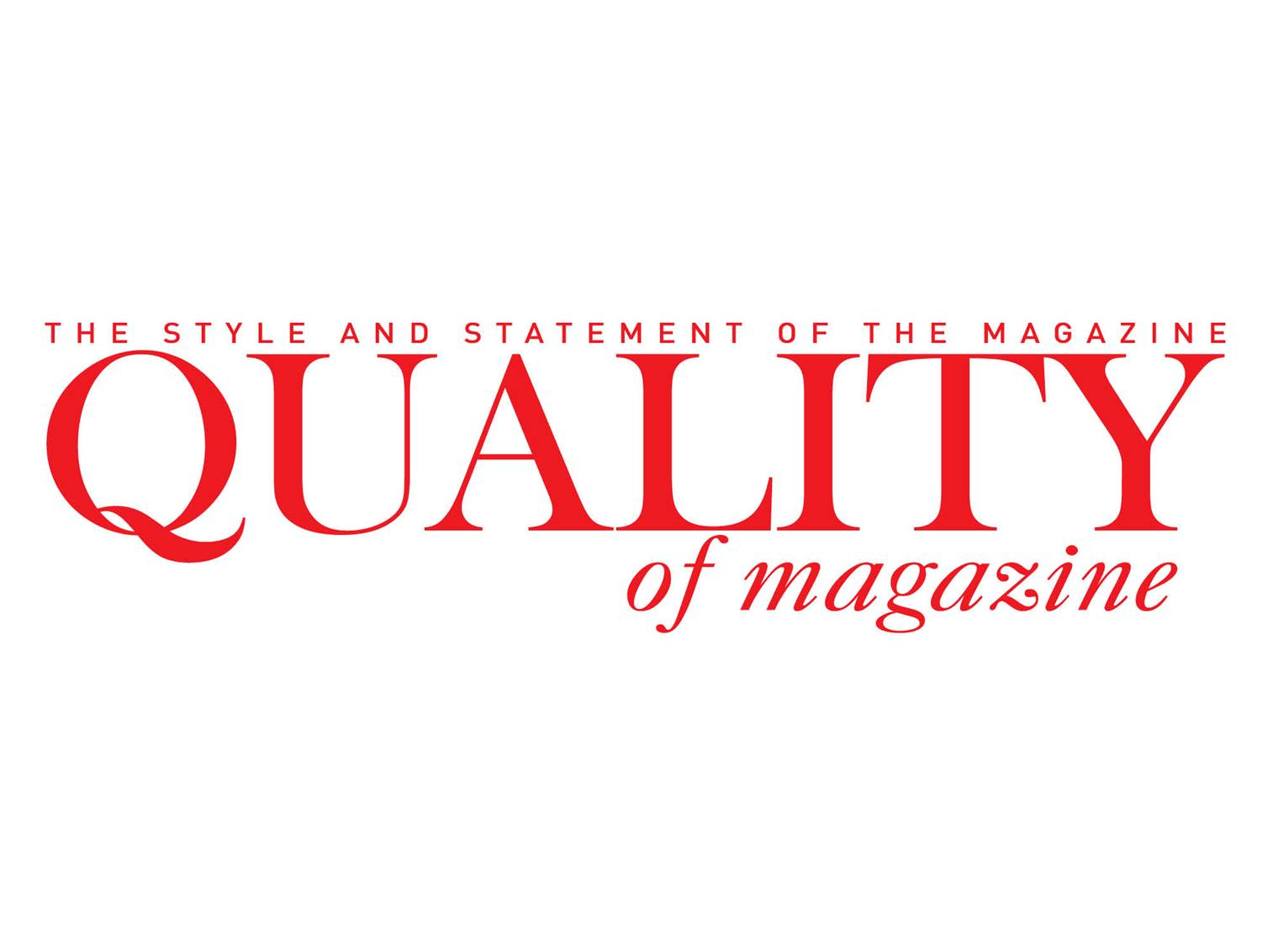 Quality of Magazine